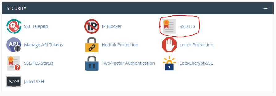 Az SSL beállítása nagyon fontos lehet.