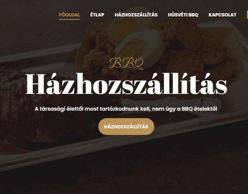 Referencia munka weboldal, webshop készíétsére-Éttermi honlap-Gremmédia.hu
